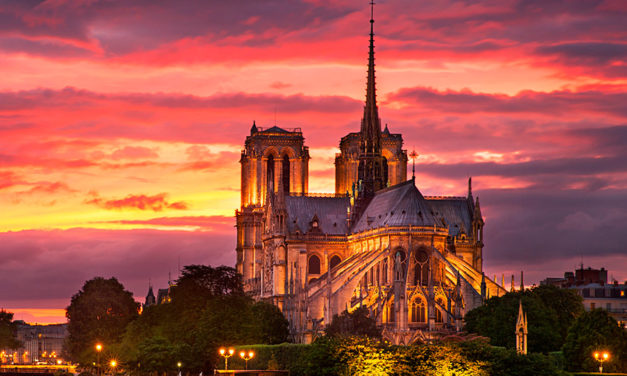 Pres. Nelson envia uma mensagem de consolo ao Papa depois do incêndio em Notre Dame