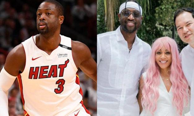 Astro da NBA faz oração de encerramento no batismo da amiga