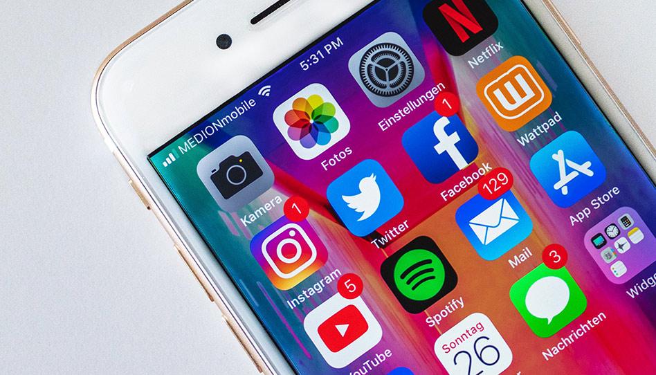 Como posso resistir à tentação de ficar olhando as redes sociais?