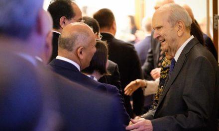 Novos presidentes de missão participam de treinamento com as autoridades gerais