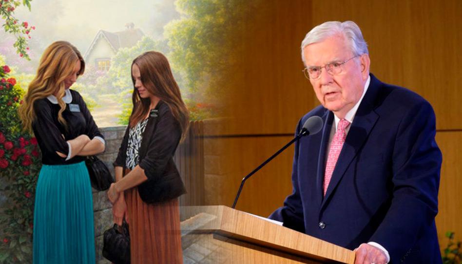 Pres. Ballard diz que os missionários não devem convidar pessoas ao batismo sem a inspiração do Espírito