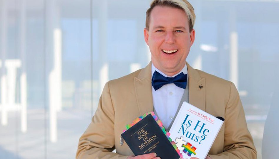 Primeiro este homem gay queria protestar contra a Igreja – agora ele é um membro dela