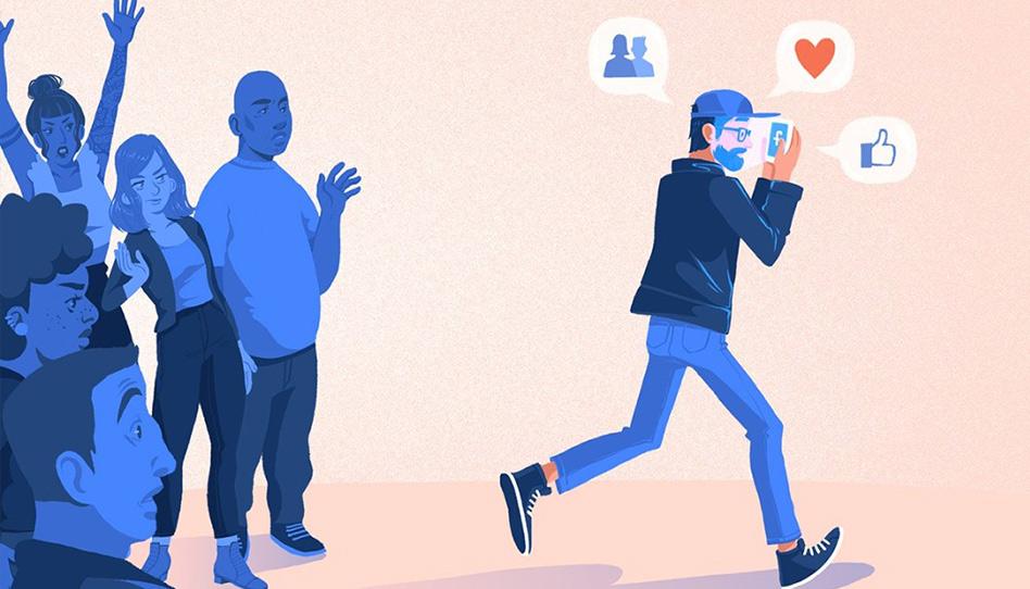 """A busca por significado nos """"feeds"""" das redes sociais"""