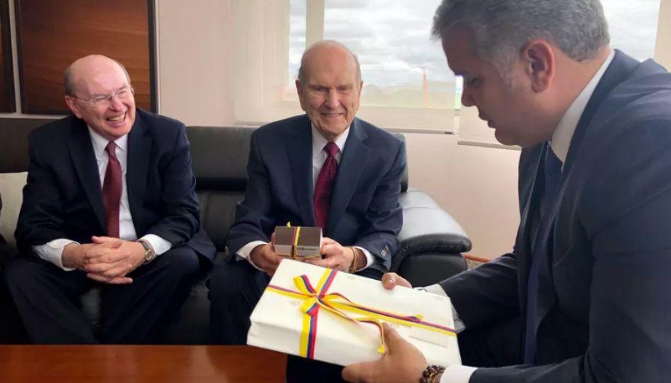 O que o presidente da Colômbia pediu ao presidente Nelson