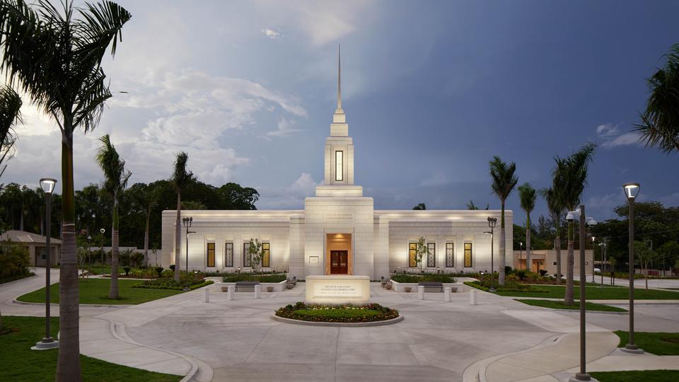 Veja as primeiras fotos oficiais no interior do primeiro templo do Haiti