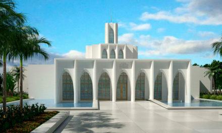 Anunciada a data da cerimônia de abertura de terra do Templo de Brasília