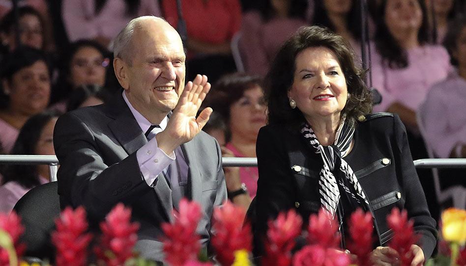 """Pres. Nelson na Guatemala: """"o Senhor cuida de Seus filhos"""""""