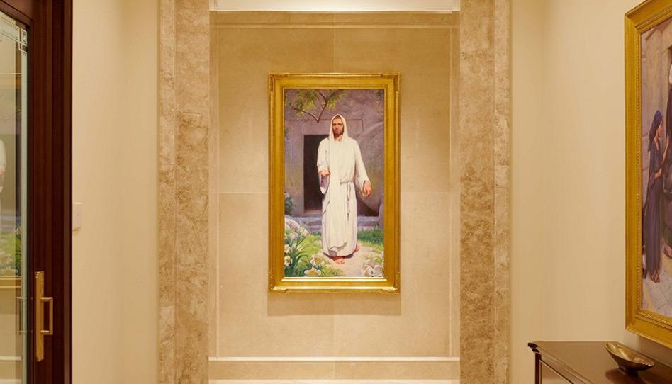 Quando estiverem no templo, não tenham pressa.