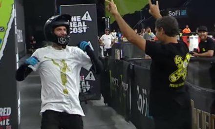 Anjo Morôni aparece no X Games 2019