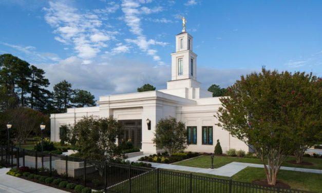 Templo de Raleigh, Carolina do Norte abre suas portas ao público