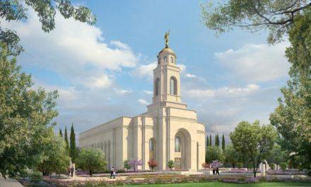 Veja a imagem de divulgação do templo de Feather River, na Califórnia.