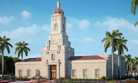Anunciada a data da abertura de terra do templo de Puebla, Mexico