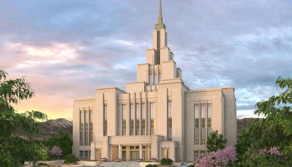 Anunciada a data da abertura de terra do templo de Saratoga Springs