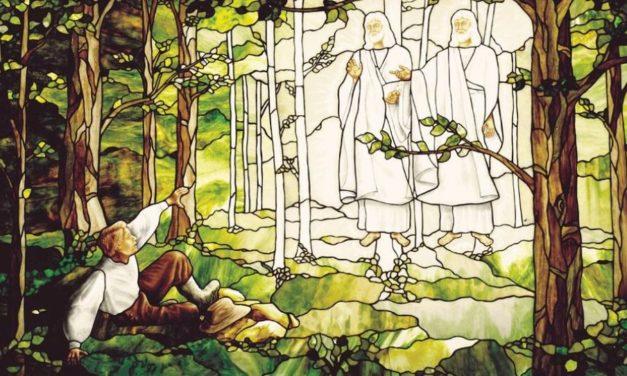 Como foi para Joseph Smith ver a luz celestial de Deus?