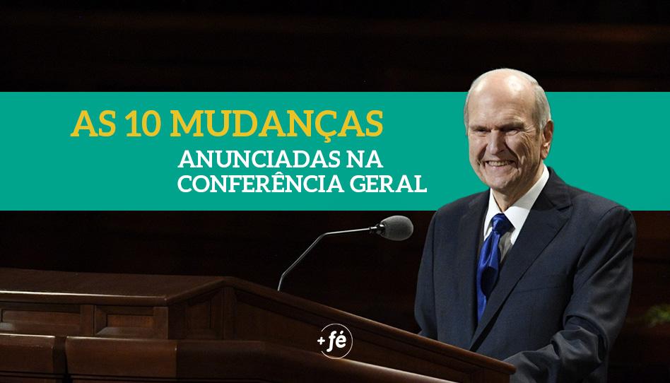 As 10 mudanças anunciadas durante a Conferência Geral