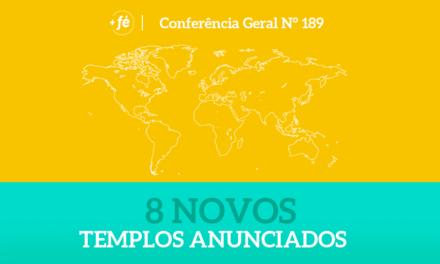 Presidente Nelson anuncia 8 novos templos durante a Sessão das Mulheres