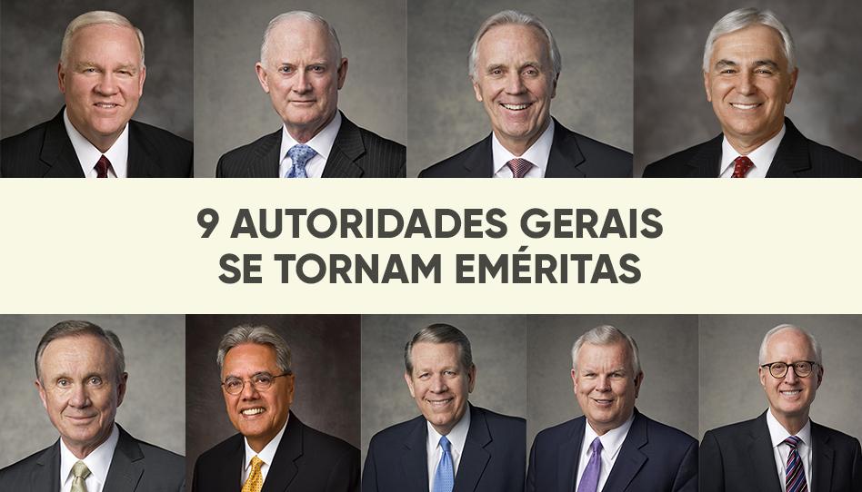 9 Autoridades Gerais recebem o status de eméritas