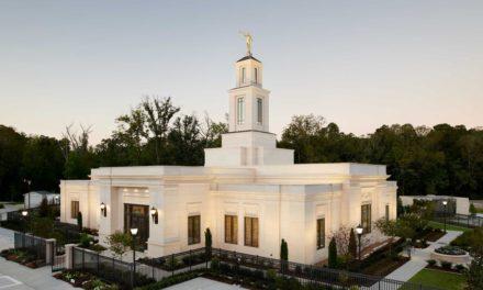 Anunciada a data da casa aberta e dedicação do templo de Baton Rouge