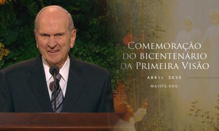 Presidente Nelson anuncia a comemoração do bicentenário da Restauração em 2020