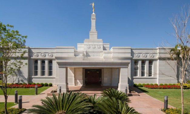 O renovado Templo de Assunção, Paraguai abre as suas portas ao público