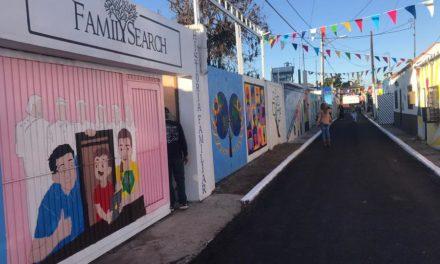 Rua dedicada a História da Família é inaugurada no México