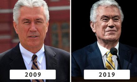2009 x 2019   Fotos dos 12 apóstolos mostram dez anos de serviço