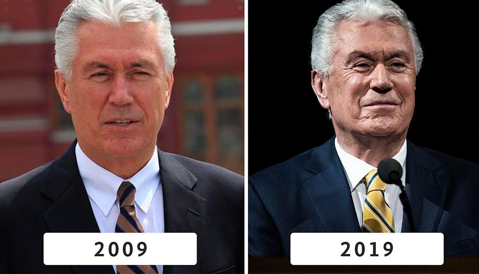 2009 x 2019 | Fotos dos 12 apóstolos mostram dez anos de serviço