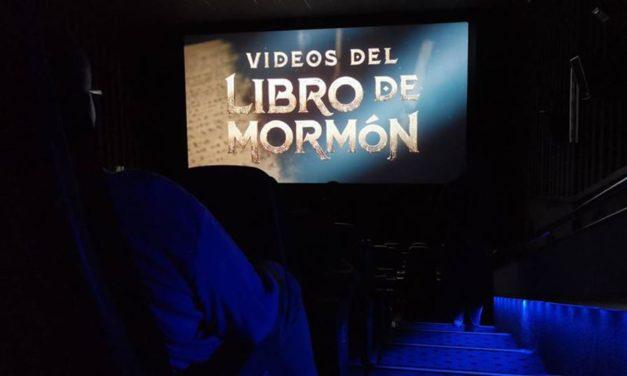 Vídeos do Livro de Mórmon chegam aos cinemas no México