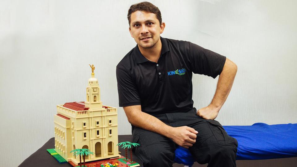 Confira a versão de lego do Templo de Barranquilla