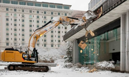 Renovação do Templo de Salt Lake – Demolições começam pelo Centro de Visitantes Sul
