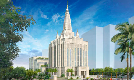 Divulgado como ficará o templo de Bangalore, Índia
