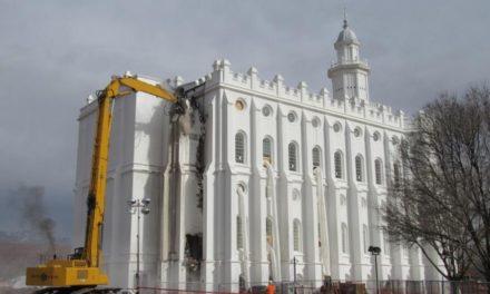 Trabalho de renovação do Templo de Saint George segue a todo vapor