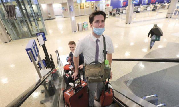 Estas são as diretrizes para os missionários que voltarão para casa por causa do coronavírus