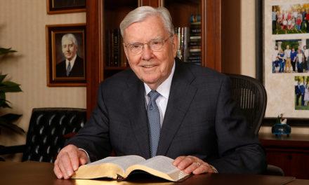 Presidente Ballard compartilha como ele ouve o Senhor