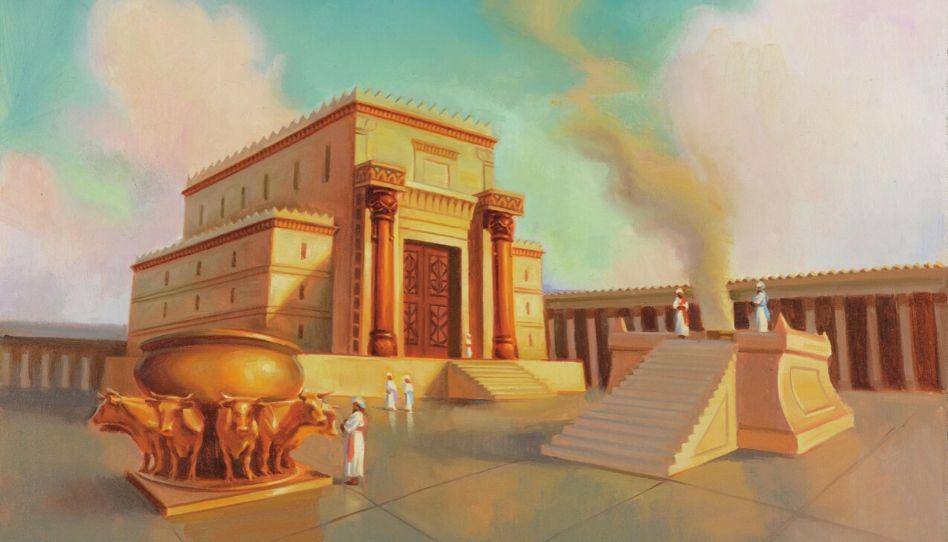 Como a doutrina de Cristo se relaciona com os templos antigos?