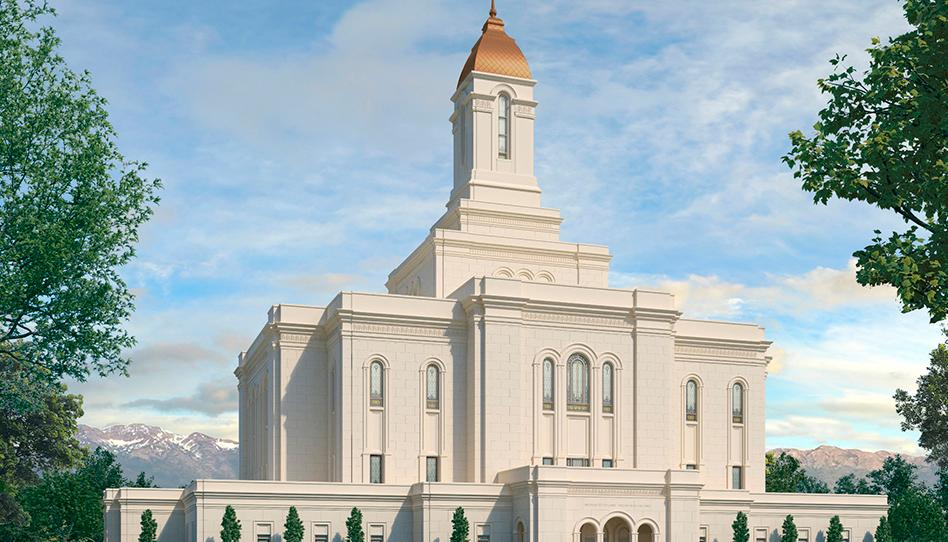 Divulgado a representação gráfica de três novos templos