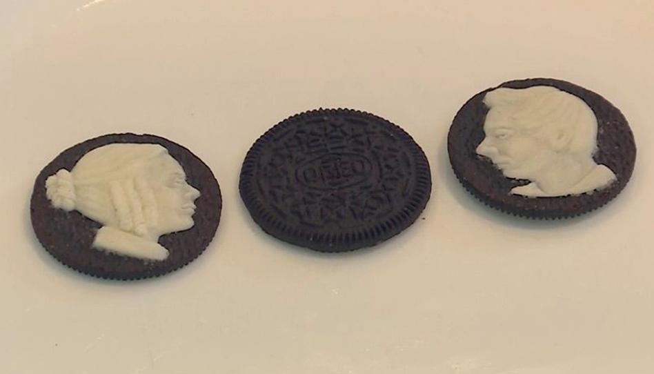 Artista santo dos últimos dias faz mini esculturas de profetas em biscoitos