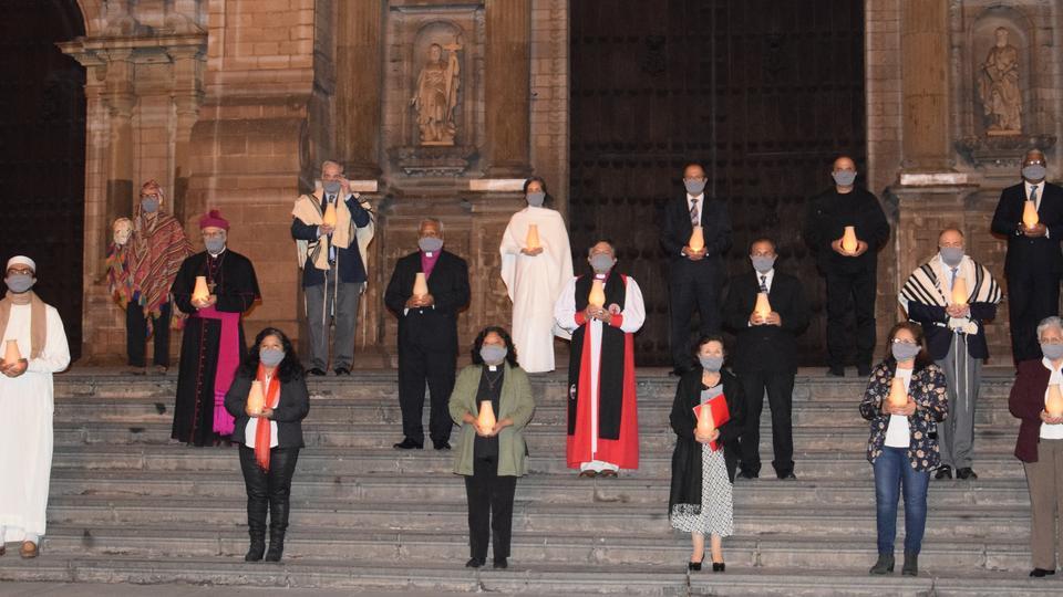 A Igreja de Jesus Cristo participa na Oração de Religiões Unidas pela saúde no Peru