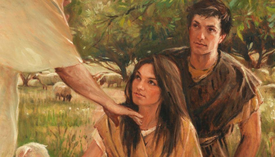 As lições que Eva e Adão aprenderam no Jardim do Éden antes de comerem do fruto