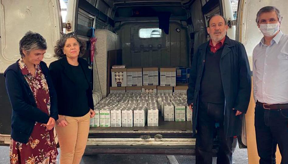 Igreja de Jesus Cristo faz doação de 1 tonelada de alimentos em Braga, Portugal | COVID-19