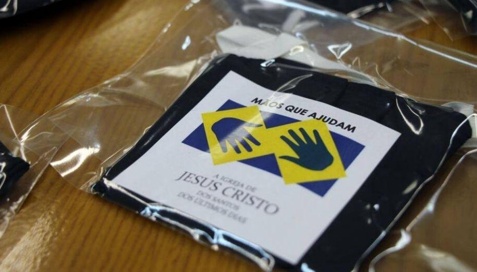 Igreja de Jesus Cristo faz doação de máscaras em Curitiba