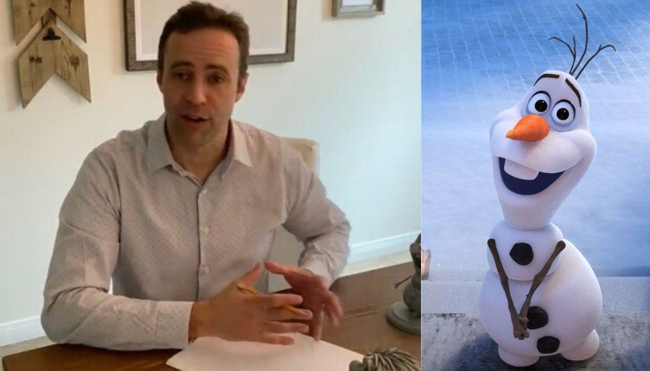 Conheça o artista santo dos últimos dias por trás de Olaf, do filme Frozen