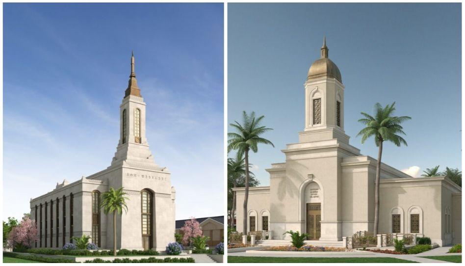 Como serão os novos templos no Japão e na Guatemala