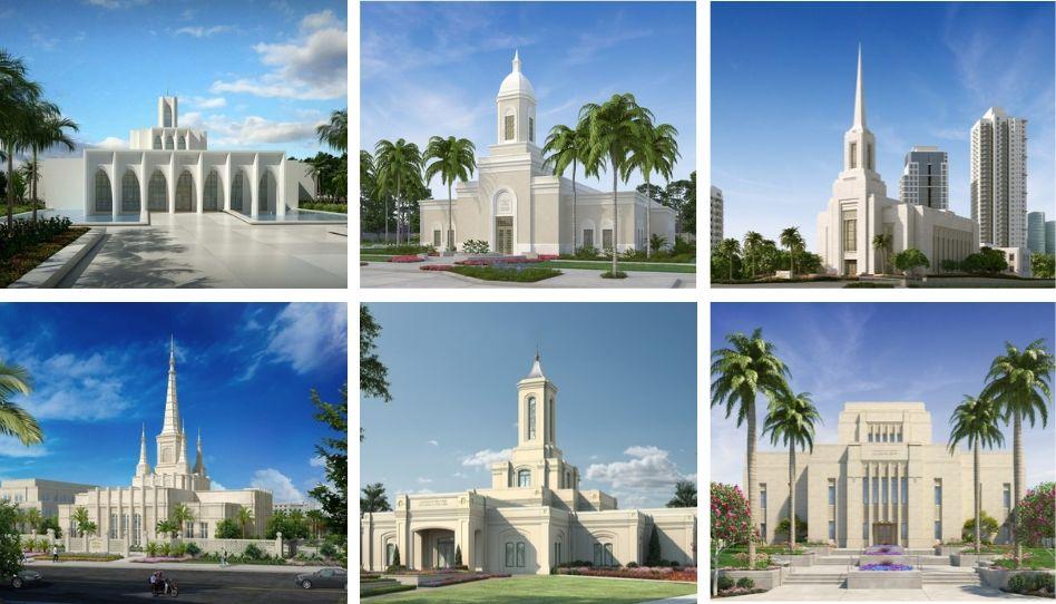 Cresce o número de templos sem uma estátua do Anjo Morôni