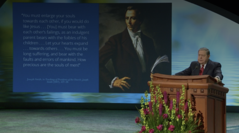 Élder Holland: O Salvador resumiu Seu ministério em 1 princípio: 'ameis uns aos outros'
