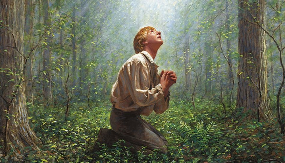 7 padrões de oração que aprendemos com o Profeta Joseph Smith