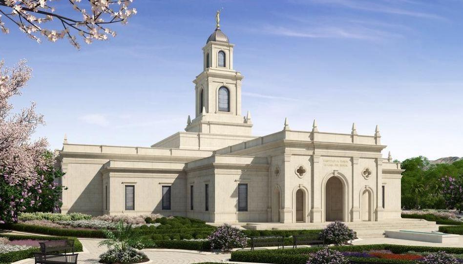 A data da abertura de terra do Templo de Salta Argentina é anunciada