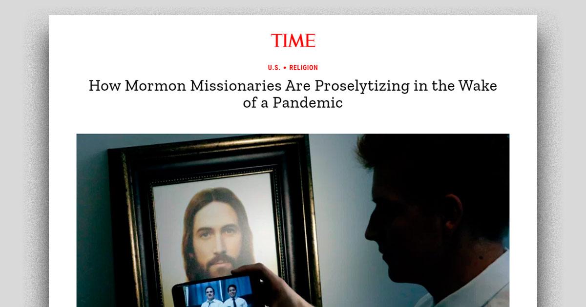 Revista Time escreve sobre as mudanças no trabalho missionário da Igreja de Jesus Cristo
