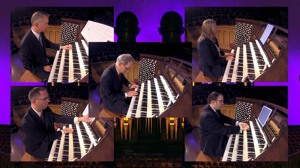 Você está perdendo concertos de órgão ao vivo na Praça do Templo!