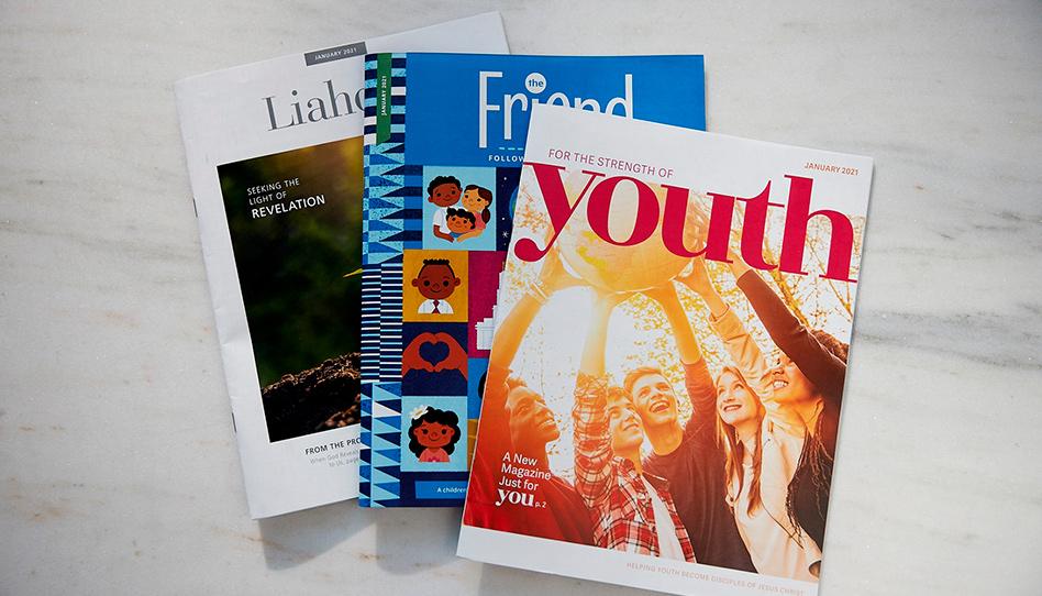 Primeira Presidência anuncia mudanças nas revistas da Igreja de Jesus Cristo